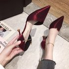 Sexy Pointed Toe Met...