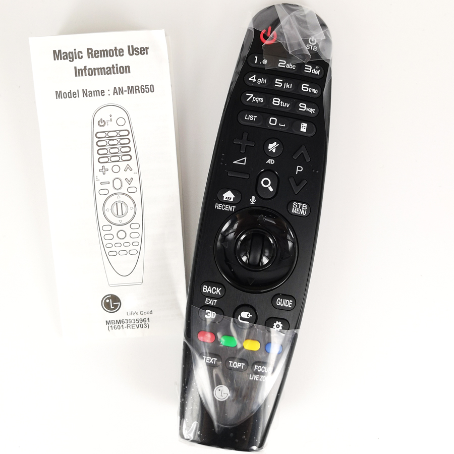 New Original For LG AN-MR650 ANMR650 Magic Remote Control With Voice Mate Smart TV Remoto 55UH7700UB,55UH8500UA,60UH7700UB new an mr600g anmr600 magic remote control for lg 3d smart tv
