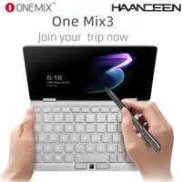 "Un Netbook One Mix 3 poche Yoga ordinateur portable Intel Core M3-8100Y double-Core 8.4 ""IPS écran Win 10 8GB DDR3 256GB PCI-E SSD notebook"