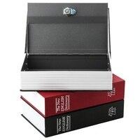 Cuốn Sách từ điển Bí Mật Hidden An Ninh An Toàn Khóa Cash Money Đồ Trang Sức Hộp Locker S/M Kích Thước 3 Colors cho Sự Lựa Chọn miễn phí Vận Chuyển