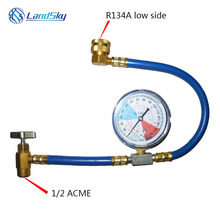 R134A Household air fluoride automotive conditioning refrigerant detection added filler pipe 1 / 2ACME rechange