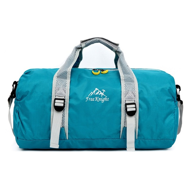 20L nylon impermeable bolsos del deporte al aire libre deporte bolsas de  viaje plegable malla de 2812463b0a4