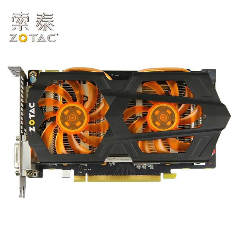 Original ZOTAC Video Cards GTX650 Ti Boost-2GD5 192bit GDDR5 Graphics Cards for nVIDIA GeForce GTX 650Ti Boost 2G Map 2GB Hdmi nvidia geforce graphics cards gtx750 2gb gddr5 128bit game cards 1120 5000mhz stronger gt740 gtx650