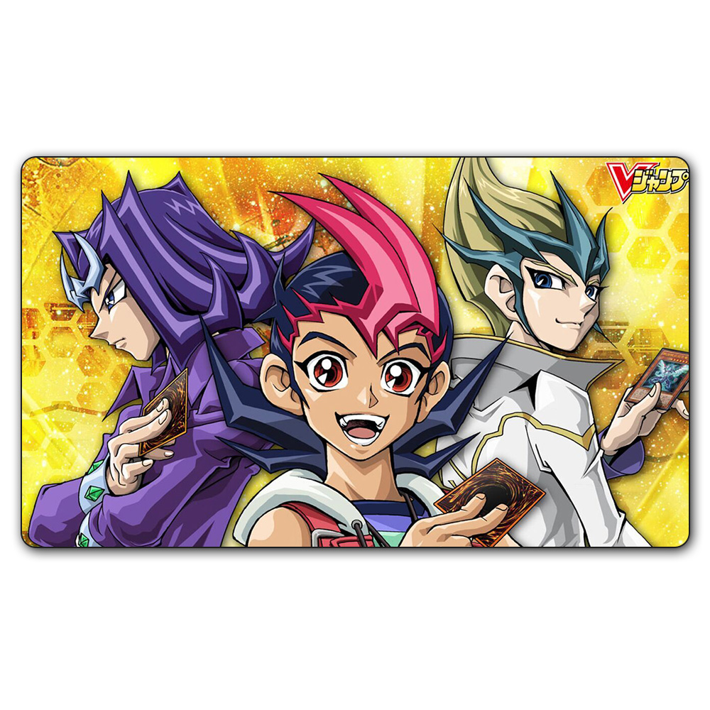 (YGO #32 Playmat) 35X60CM YU-GI-OH Players Play Mat Board Games YGO Card Games Table Pad with Free Gift Bag