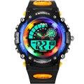 2017 NUEVOS Relojes de Los Niños Lindo bebé de la Historieta del Reloj Del Reloj de Los Deportes para los niños Chica De Goma Digital LED Reloj de Los Niños Reloj