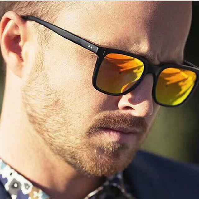 2018 New Square Sunglasses Men Women Brand Designer Driving Fishing Vintage Motion Sun glasses Mirror gafas de sol UV400