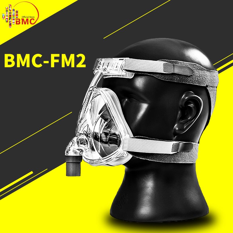 BMC FM2 Full Face Mask 2017 Fashion Type For CPAP BIPAP Machine Size S M L