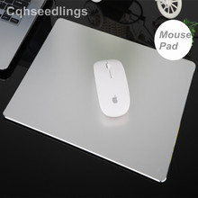 Double Side Aluminum Mouse pads Gaming MousePad Metal Non-Slip Thin sensitive Computer MousePads Gaming For Mackbook PC laptop