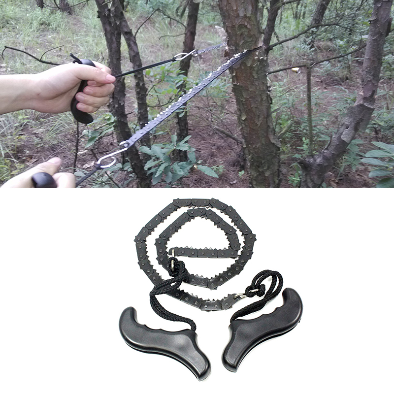 Gear Kits Wire Hand  Safety Survival Outdoor Steel Chain Saw Camping Hunting l