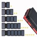 20000mAh Солнечная батарея двойной USB внешний аккумулятор водонепроницаемый поликристаллические солнечные батареи уличная лампа Банк питания