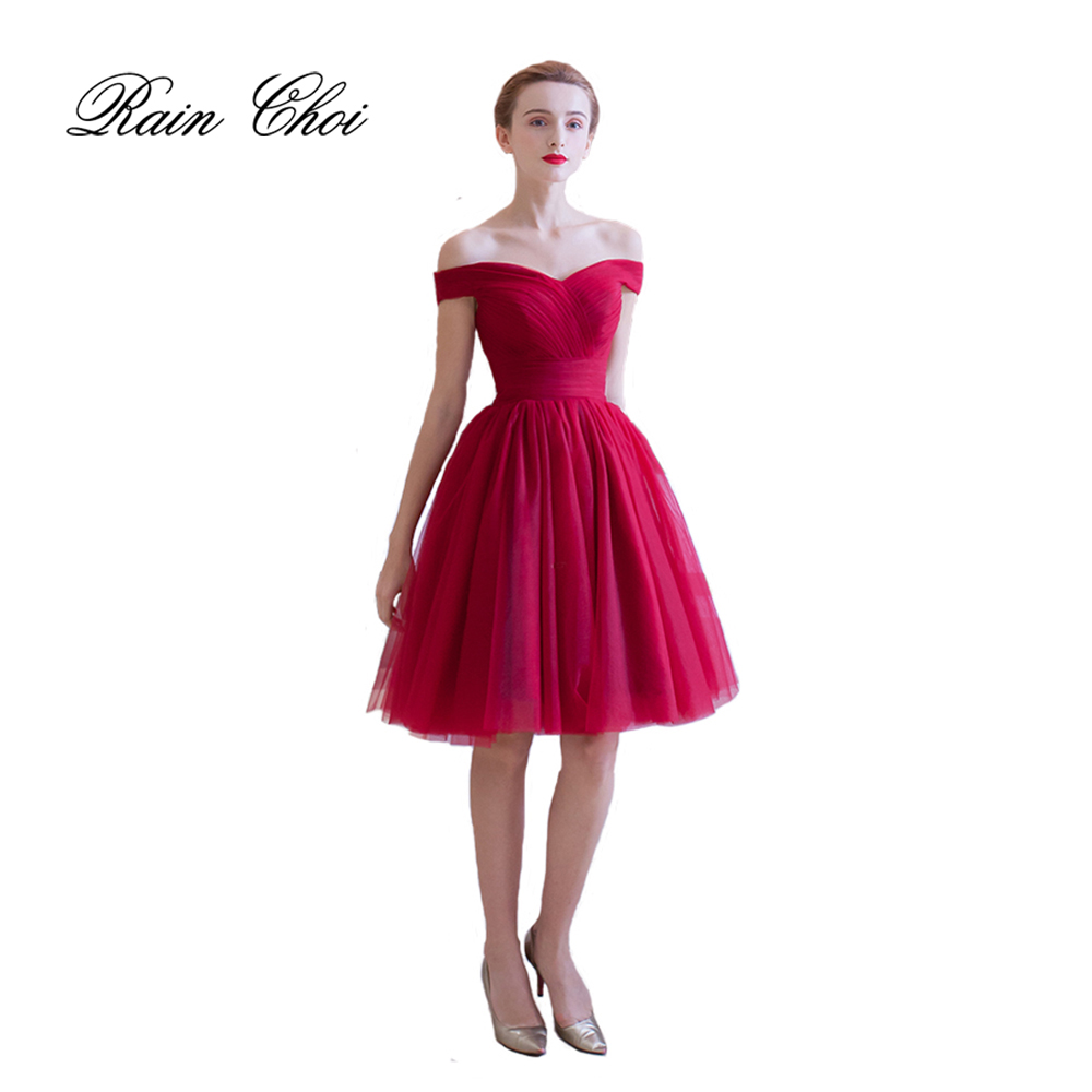 Short   Cocktail     Dresses   Sexy A Line Formal Party Prom   Dress   Short Evening Gown 2019