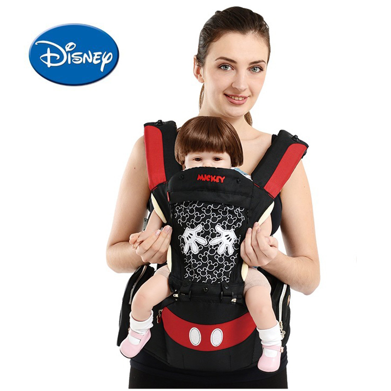 Disney Breathable Multifunctional Front Facing Baby Carrier Infant Baby Sling Backpack Frontpack Pouch Wrap Disney Accessories|Backpacks & Carriers|   - title=