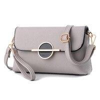 Soft Leather Women Messenger Bags Phone Clutch Purse Organizer Evening Party Handbags Small Ladies Shoulder Bag