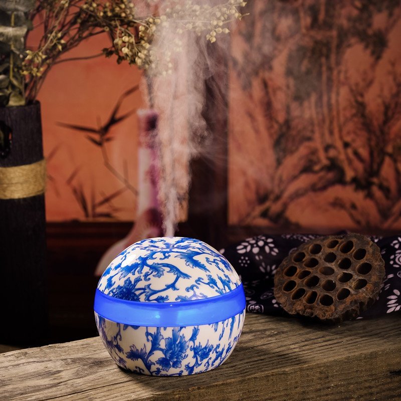 300ml  Electric Ultrasonic Air Humidifier Aromatherapy Essential USB Home Classic Oil Diffuser Aromatherapy