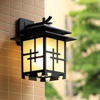 Chinese simple style outdoor outdoor waterproof villa entrance lobby garden courtyard imitation Vintage wall lamp LO835