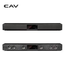 CAV Bluetooth Саундбар 3,1 канала ТВ Динамик деревянный Проводной Двойной Колонка для басов Sound Bar домашний Театр Системы 10 Динамик единиц