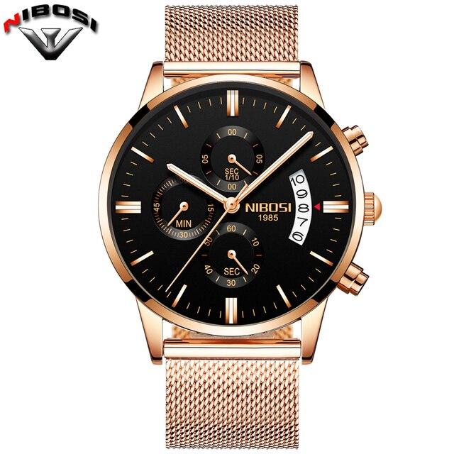 2019 NIBOSI Luxury Brand Watches 3