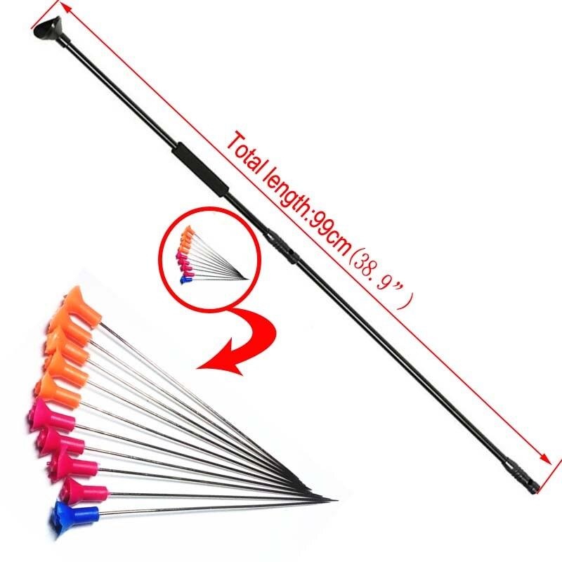 Blow Gun dart Slingshot Hunting Catapult with 10pcs blow dar