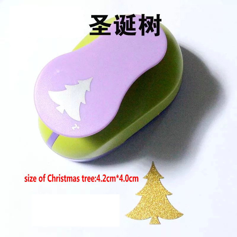 2 Christmas Tree Scrapbooking Tool Paper Punch For Photo Gallery