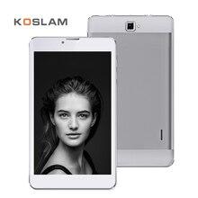"""KOSLAM 7 Pulgadas 3G Android Tablet PC 1280×800 IPS pantalla Quad Core 1 GB RAM 8 GB ROM WIFI OTG 7 """"Teléfono Móvil Dual SIM Phablet"""