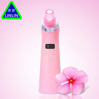 LINLIN 4 IN 1 Comedo Blackhead Vacuum Suction Diamond Dermabrasion Removal Scar Acne Pore Peeling Facial