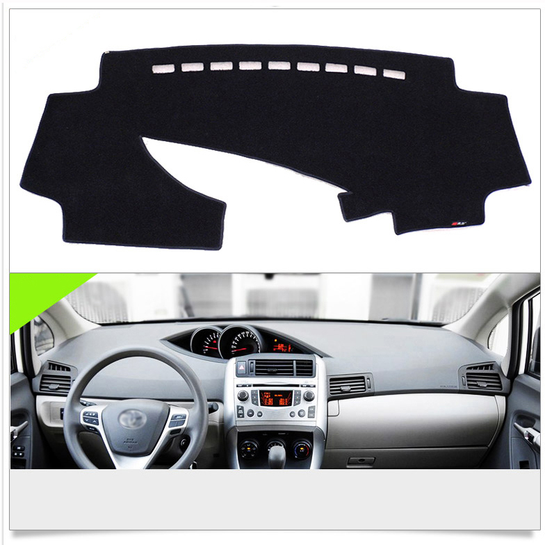 Interior Dashboard Carpet Photophobism Protective Pad Mat For Toyota - Car Interior Accessories