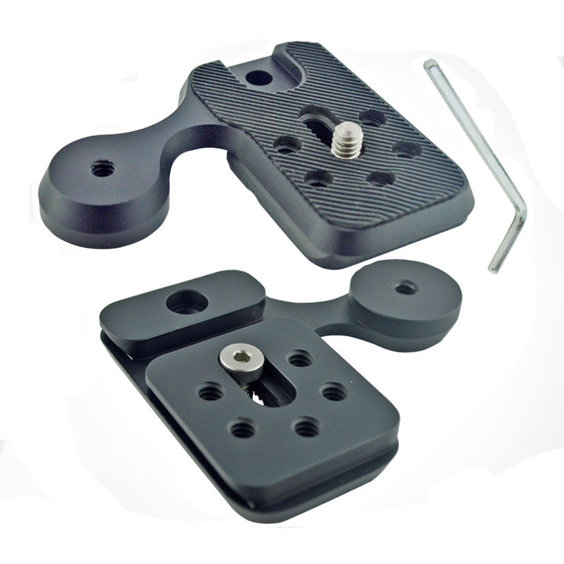 M Pro Quick Release Plate Tripod Mount Attachment For Arca Swiss Universal Tripod Plate System