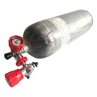 AC290111 Compressed Air 4500Psi 300 Bar 9L DOT for Diving And For Hunting Scuba Tank Carbon Fiber Drop Shipping Acecare 2019