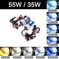 2x Kit Hid Xenon h7 55w 6000k 8000k Bulb Xenon h4 Hb4 6000k 55w Hi Lo High Low Beam 35W H7 H1 H3 H8 H9 H11 9005 HB3 9006 10000K