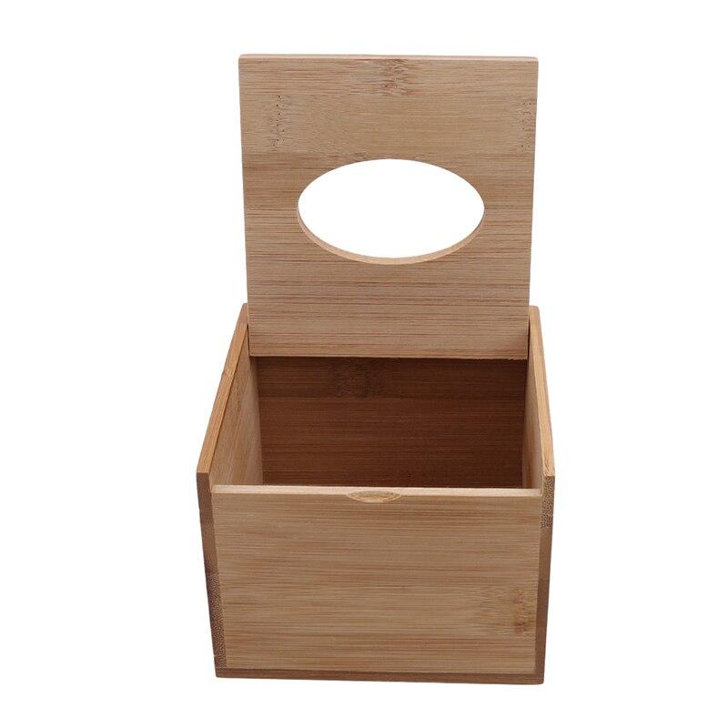 Модный стиль бамбуковая квадратная коробка для салфеток креативный Тип сиденья рулон коробка для хранения бумажная коробка для салфеток экологически чистый деревянный стол Декор