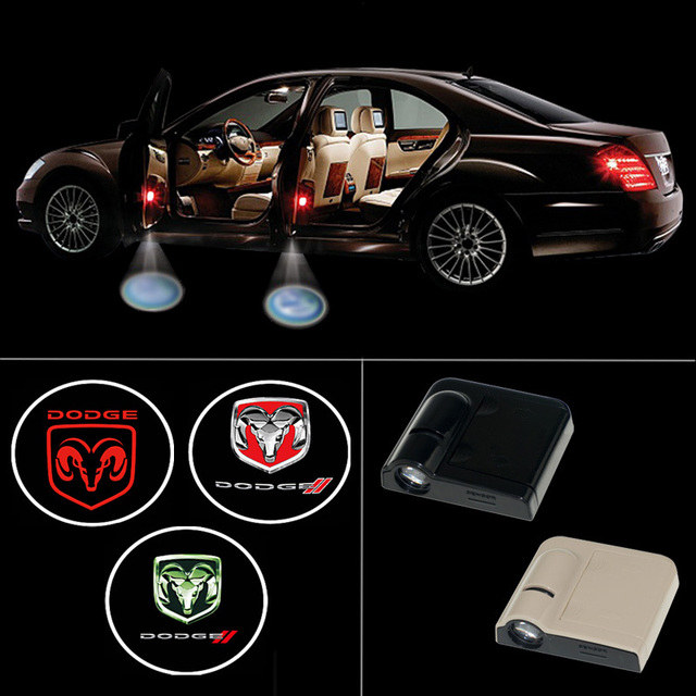 Wireless Led Car Door Light Logo Projector Welcome Ghost