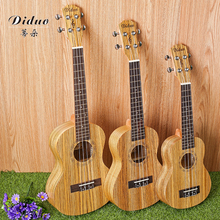 21 inch tippy zebra wood ukulele 4 string small guitar chic cool music