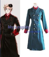 Anime Hetalia Axis Powers Denmark Cosplay Costume For Male Cosplay High Quality For Men Clothing Men Coat