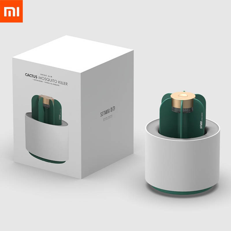 2019 Xiaomi Mijia Ecological Sothing Mosquito Killer Lamp Portable Cactus USB Electric Mosquito Repellent Insect Trap UV Light