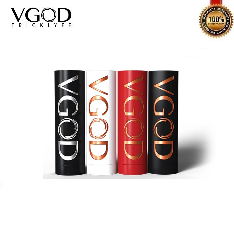 Original VGOD Pro Mech Mod Mechanical Mod Powered by Single 18650 Batetery Hybrid 510 Thread Tank