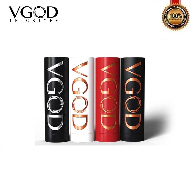 Original VGOD Pro Mech Mod Mod mécanique alimenté par une seule batterie 18650 hybride 510 fil réservoir électronique Cigarette Vape Mods