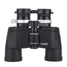Compact Zoom Binoculars 6-16x40 HD Lll Night Vision Infinite Zooming Binocular with Large Eyepiece Camping Hunting Telescope