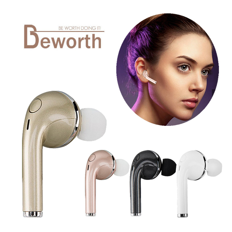 Wireless Headphones V4.1 Bluetooth Earphone Stealth Sports Headset Ear-Hook With Mic Earbuds For iPhone 7/7S Samsung S7 Xiaomi remax 2 in1 mini bluetooth 4 0 headphones usb car charger dock wireless car headset bluetooth earphone for iphone 7 6s android