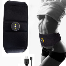 Fitness Vibration Belt Muscles Electrostimulator Abdominal Muscle Stimulator Toner EMS Trainer Gym Equipment Slimming Machine