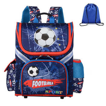 High Quality Boys School Backpacks Orthopedic 3D Pattern Kids Packsack Children Primary School Bags Child Boys Rucksack - DISCOUNT ITEM  35% OFF All Category