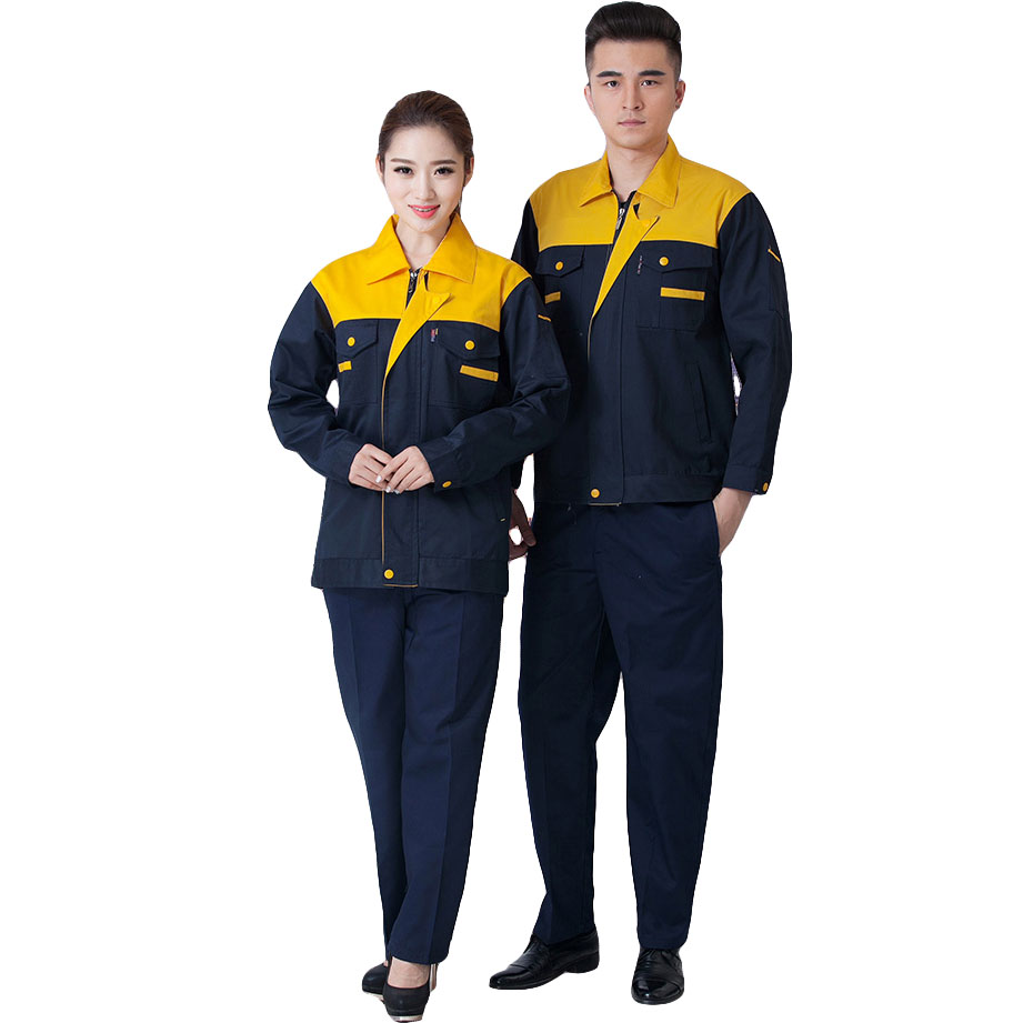 Work Clothing Sets Men Women Unisex Workwear Suits Long Sleeve Jacket and Pants Factory Repair Workers Labor Uniforms Plus Size 4 colors 2016 summer unisex popular breathable work clothing short sleeve workwear absorbent comfortable clothes for factory
