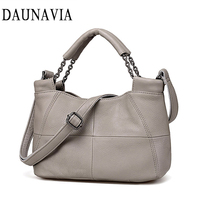 Best Special Offer New Bucket Quality Genuine Leather Women Handbags 2017 Brand Tote Bag Plaid Top