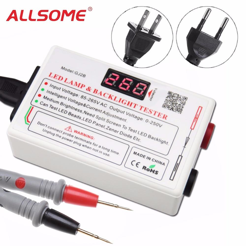 Gj2b Voltage Led Lcd Tv Screen Backlight Zener Diode Tester Meter Simple Indicator By And Allsome 0 250v Output Multipurpose Smart Lamp Repair Ht1976