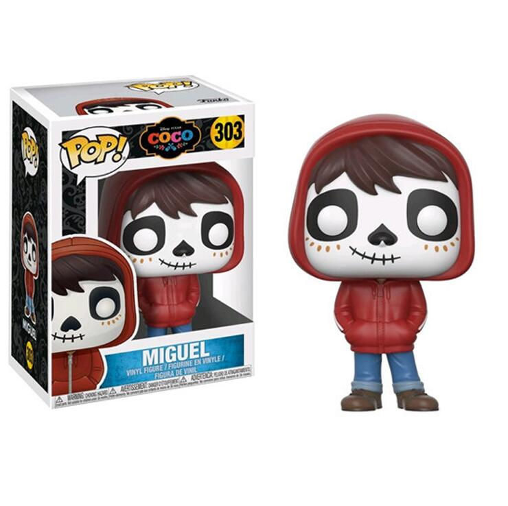 Funko POP Anime Pixar Movie Coco & Miguel Doll Collection PVC Action Figure Toys For Children