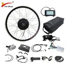48V 500W Electric Bike Conversion Kit with 48V16AH/20AH/LG26A Battery Brushless Hub Motor Wheel bicicleta electrica ebike Kit цена и фото