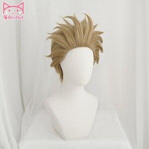 Image 2 - Парик для косплея моя геройская Академия [anihut】hawks No.2 Boku No Hero моя геройская Академия парик для косплея