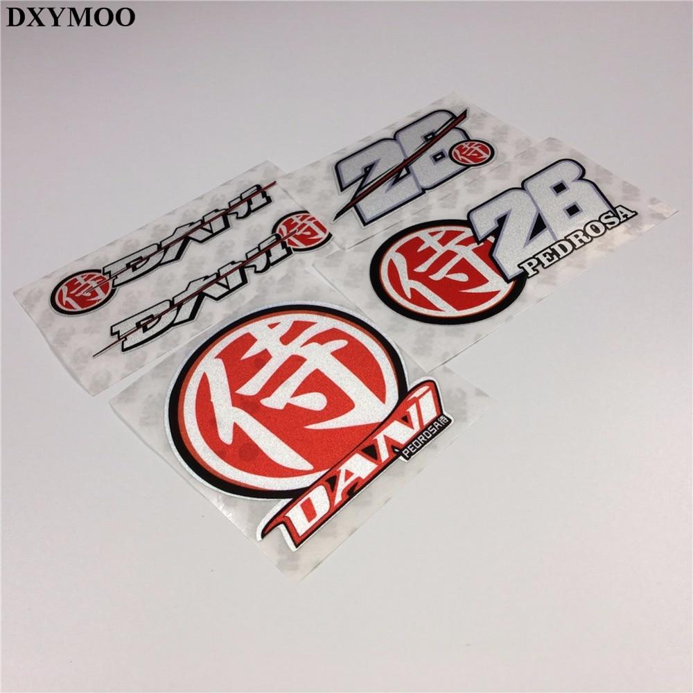 Motogp Racing Motorcycle Stickers Helmet Window Car Sticker Decal