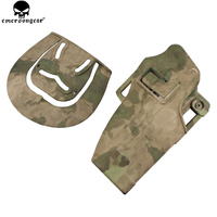 EMERSONGEAR Plastic Holster Magazine Pouch Quickly Pistol Holster For Beretta 92 Tactical Airsoft Mag Holster EM6095