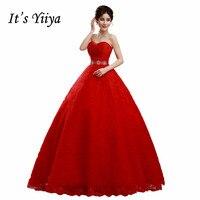 2017 Summer Vestidos De Novia Real Photo High Quality Wedding Dresses Red White Princess Bride Gowns