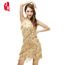 Woman 1920s Cami Dress Flapper Fringe Gold Vintage Sequin Party Dress Plus Size  Slip Sexy V-Neck Summer Dress Tassel Vestidos double v neck cami dress